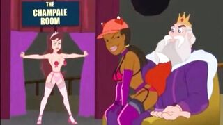 FOXXY LESBIAN COMPILATION - Dildo Masturbate Pussy Licking Cartoon - DRAWN TOGETHER CLARA Eat Pussy