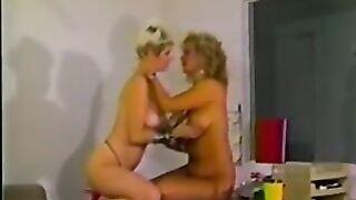 Trinity Loren and Lois Ayres lesbian vintage